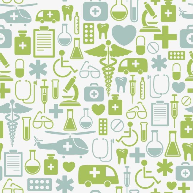 设计元素 背景素材 其他 > 医疗元素底纹背景  [版权图片] 找相似下一