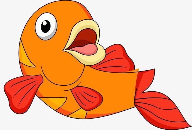 可爱卡通小鱼图片