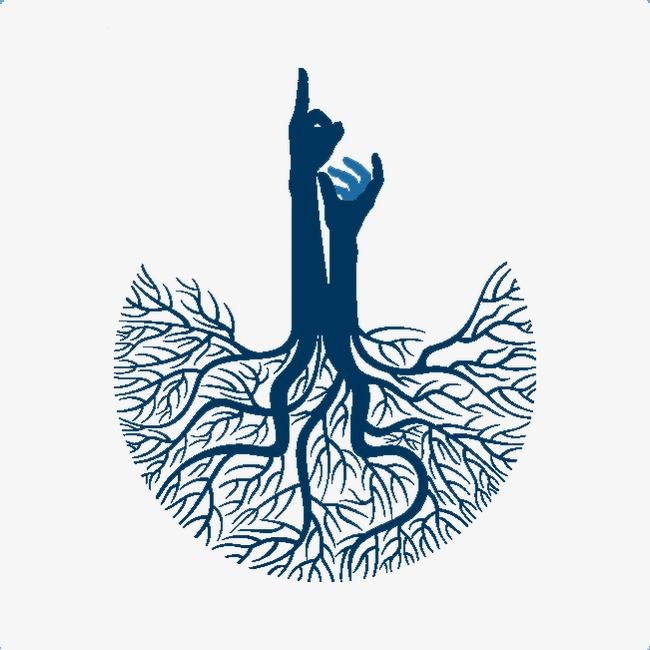 树根手势logo设计图片素材图片免费下载 高清装饰图案png 千库网 图片编号2303581