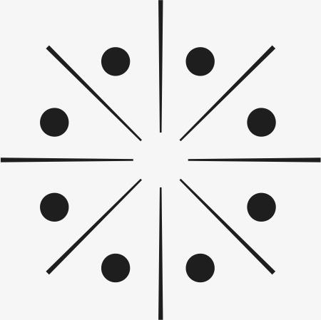 点线面构图底纹角花素材图片