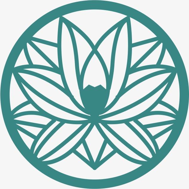 角花底纹花型对称平面图形png素材-90设计图片