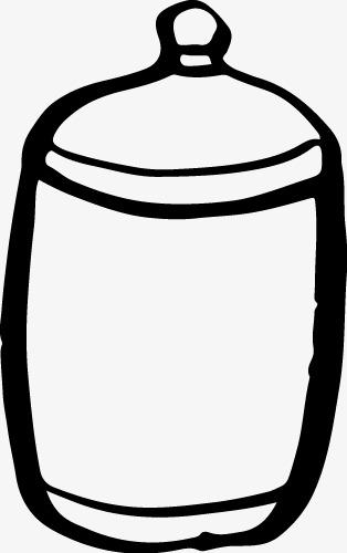 素描放倒罐子结构