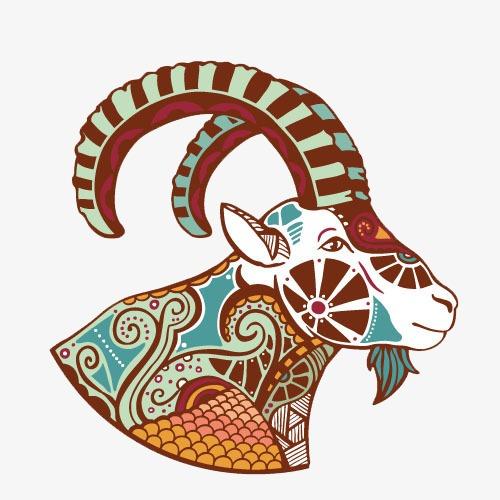 羊头装饰画
