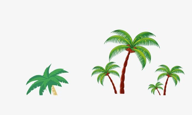 棕榈树手绘