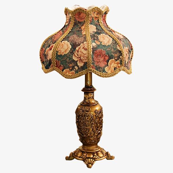 欧式古典台灯