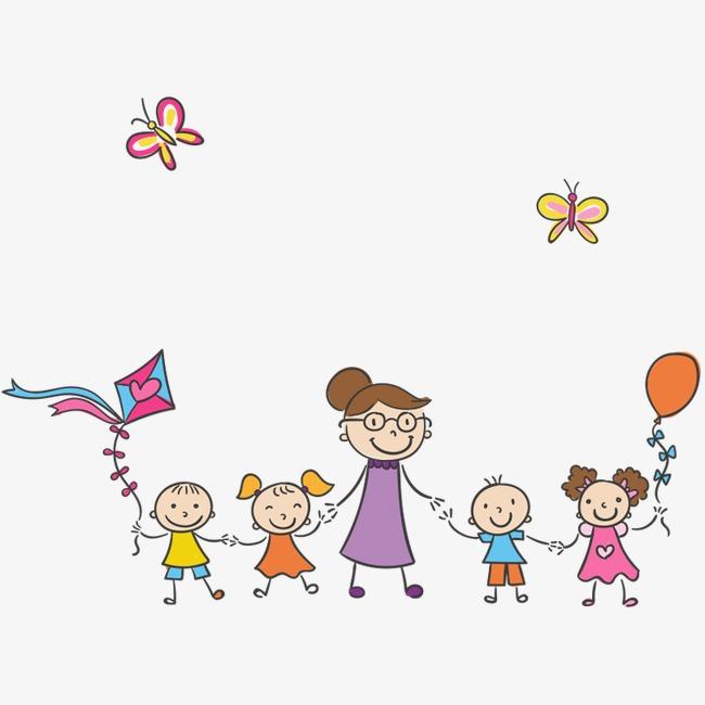 卡通人物 放风筝素材图片免费下载 高清装饰图案png 千库网 图片编号图片
