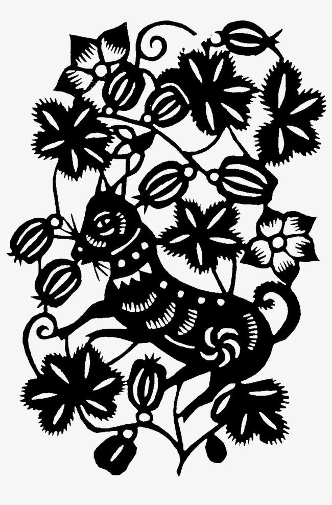 连体窗花的剪法步骤图