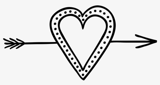 丘比特心形之箭图案