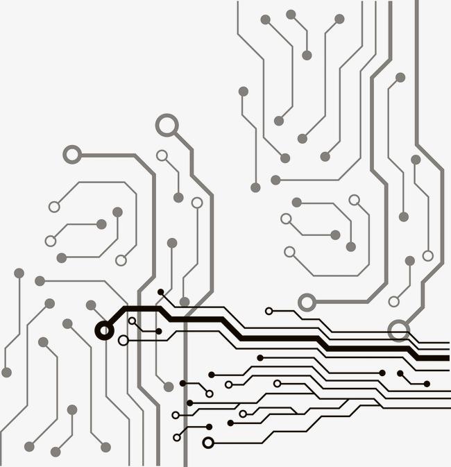 电路板psd_电路板png素材-90设计