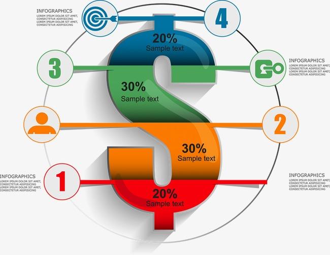 设计元素 科技素材 信息图表 > 商务信息图表示意图  [版权图片] 找相