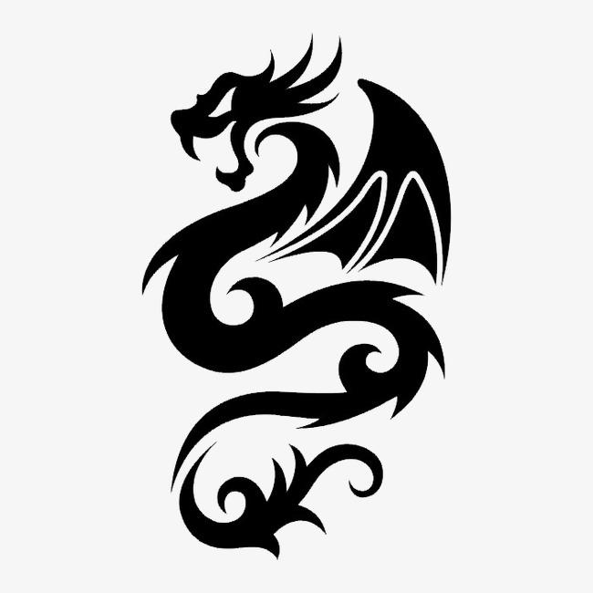 黑白动物轮廓 纹身图案 素材合集             此素材是90设计网官方