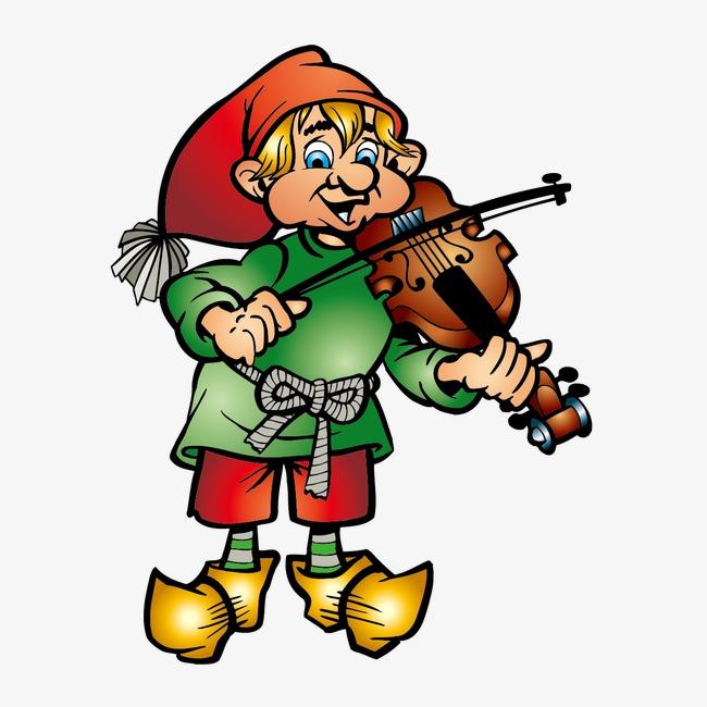 拉小提琴的人图片