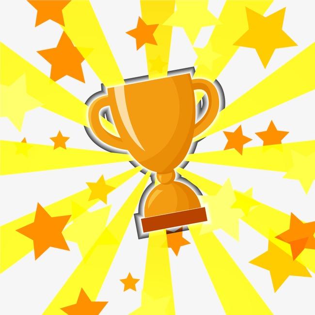 奖杯装饰图  按 + 收藏千库网                    节省您50%的设计图片