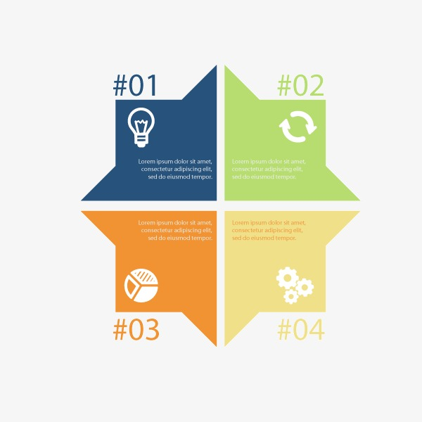 设计元素 科技素材 信息图表 > 扁平化方块ppt元素  [版权图片] 找