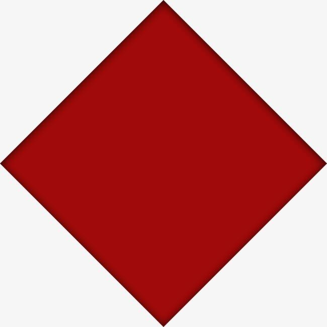 立体红色正方形