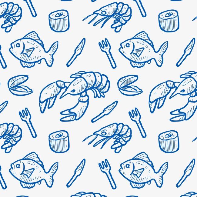 设计元素 背景素材 其他 > 海鲜底纹  价格:8我图币[充值] 下载源文件