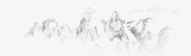 古风墨迹素材水墨图片素材水墨山水画