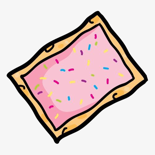 可爱卡通手绘饼干零食图片