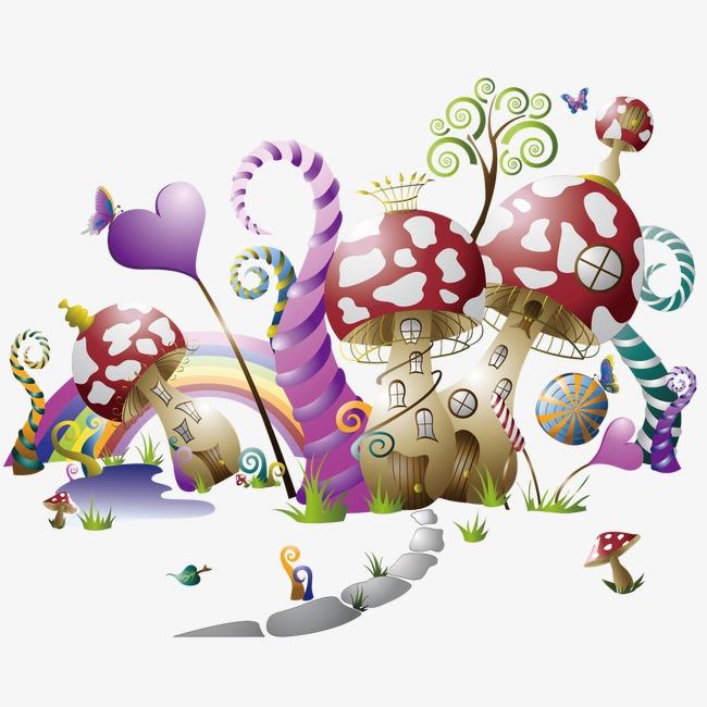 创意蘑菇png素材-90设计