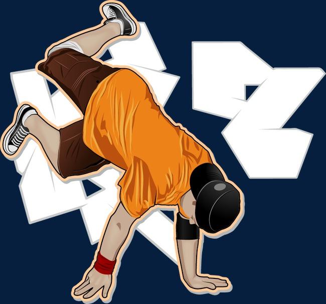 健身倒立矢量图图片