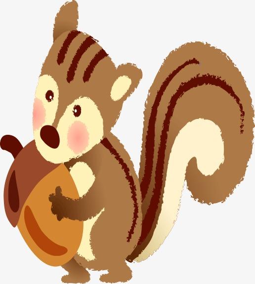 本次卡通手绘松鼠作品为设计师创作,格式为png,编号为 15621304,大小
