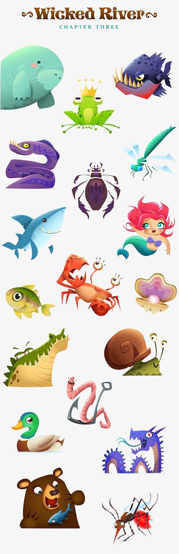 图片 卡通动物 > 【png】 动物  分类:装饰元素 类目:其他 格式:png