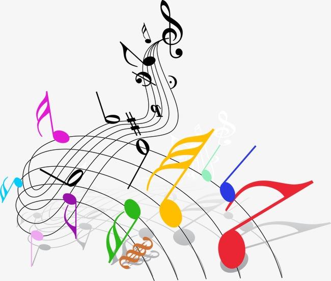 音符头像手绘卡通