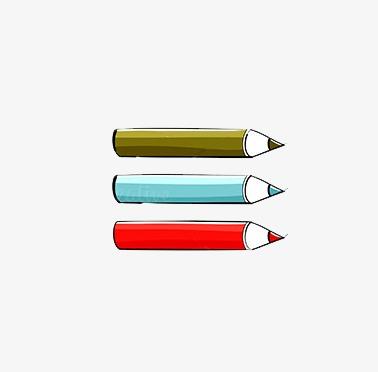 卡通手绘铅笔