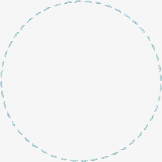 虚线 线条 边框 边饰 圆形             此素材是90设计网官方设计