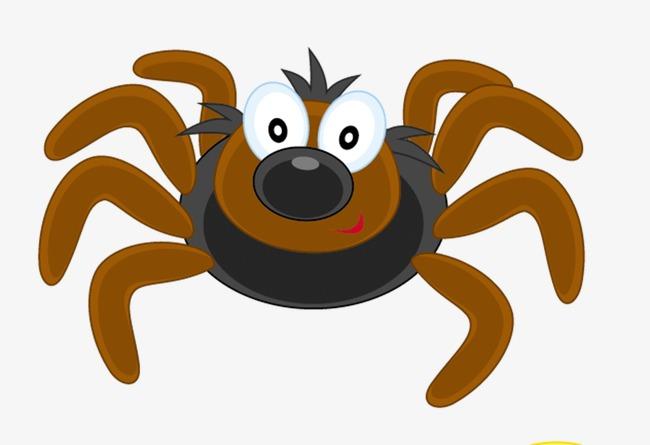昆虫 卡通 可爱 蜘蛛             此素材是90设计网官方设计出品,均图片