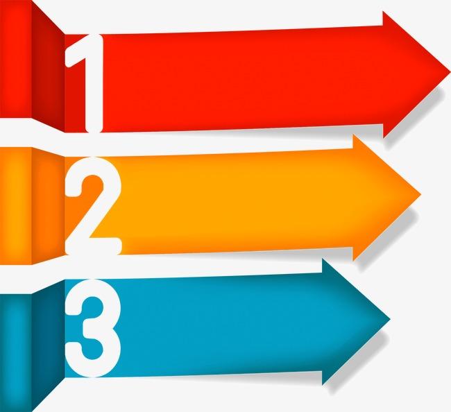 商务信息图表示意图图片下载商务信息箭头多彩示意图图表流程说明统计