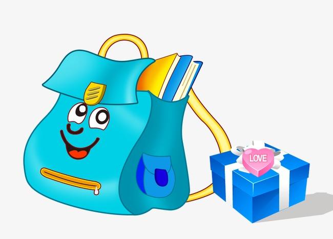 手绘儿童背包