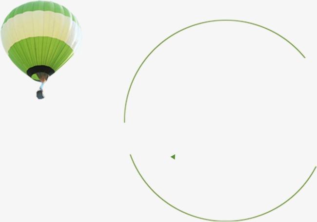 热气球 小清新