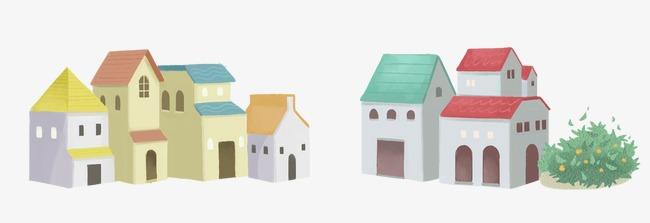 卡通小房子(圖片編號:15406241)