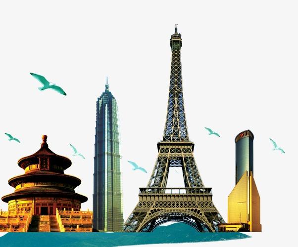 中国十大名塔图片壁纸