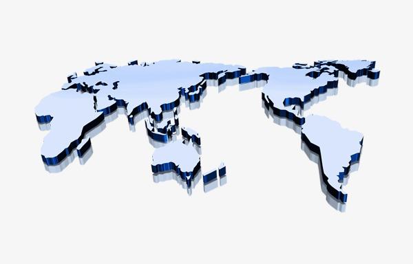 立体图标_立体世界地图png素材-90设计
