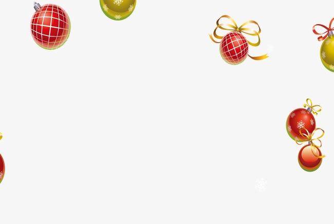 雪人边框矢量图