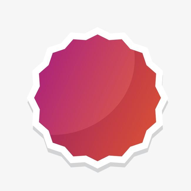 点击右侧免费下载按钮可进行 红色圆形打折标签png图片素材高速下载.