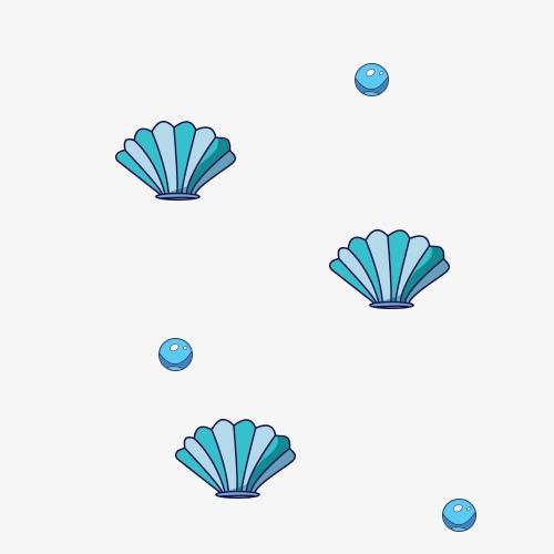 卡通海底贝壳(图片编号:15405568)