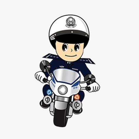 卡通警察 卡通人物形象动漫警察 交警卡通警察 卡通人物形象 动漫图片