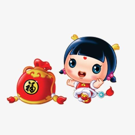 卡通人物形象图片下载卡通人物形象金童玉女中国传统