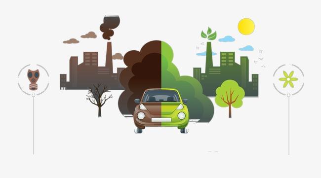 绿色太阳能环保ppt矢量素材