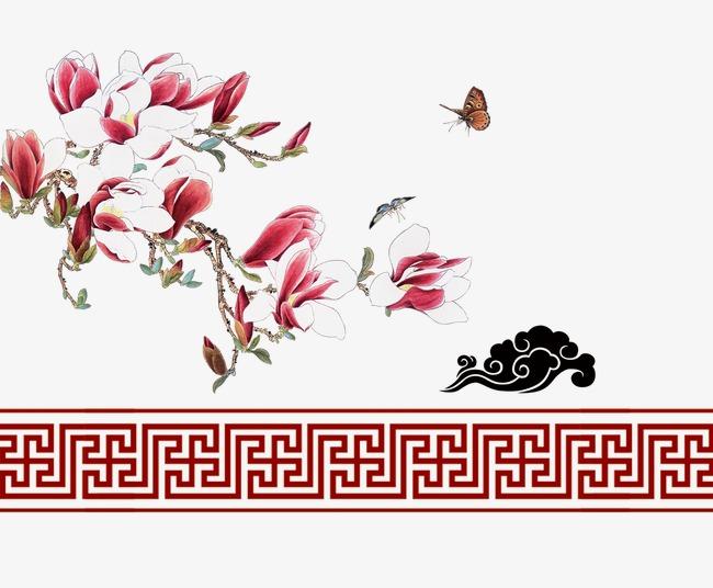花朵祥云边框(图片编号:15405109)