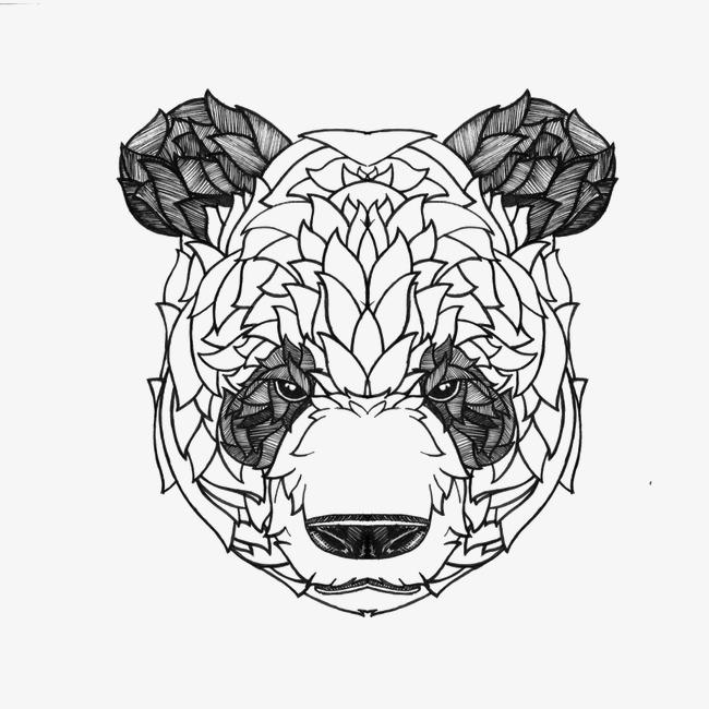手绘熊猫图片大全大图