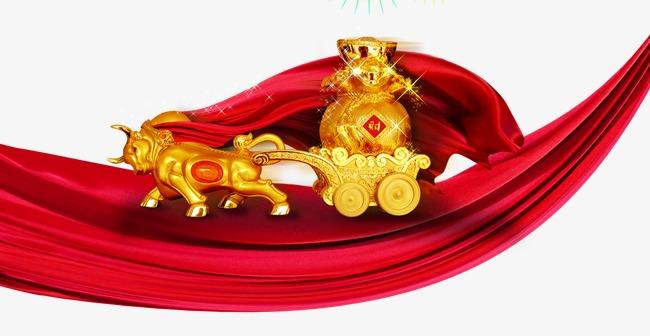 红布金色财宝(图片编号:15404949)_效果素材_我图网