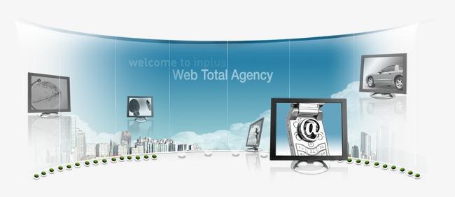 设计元素 其他 效果素材 > 电子科技网页广告效果图  [版权图片] 找