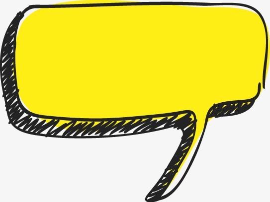 手绘彩色对话框(图片编号:15400408)
