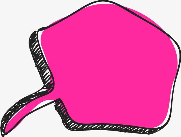 手绘彩色对话框(图片编号:15400406)