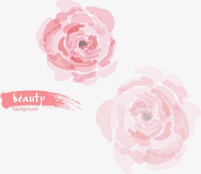 唯美手绘花朵(图片编号:15400277)