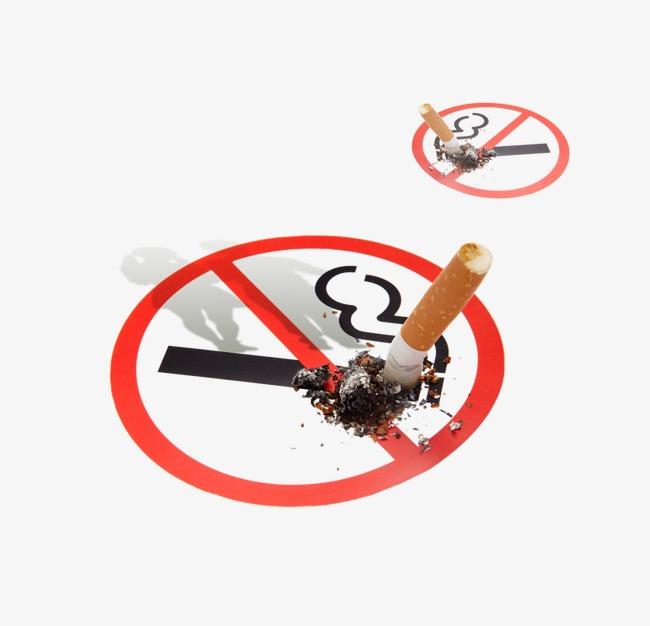 禁烟标志标签(图片编号:15404736)